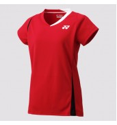 2017 Yonex Polo Shirt CAP Sleeve W 20371 SUNSET RED