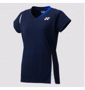 2017 Yonex Polo Shirt CAP Sleeve W 20371 NAVY BLUE