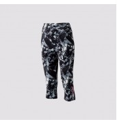 2017 Yonex Three Quarter Pants W 69006 BLACK/SILVER