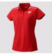 2017 Yonex Polo Shirt CAP Sleeve W 20369 SUNSET RED