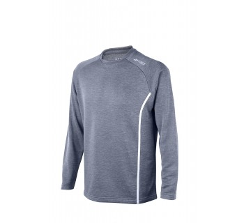 Yonex Mid-Layer Sweatshirt YSS1000 GREY