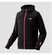 2017 Yonex Hooded Sweatshirt 30043 BLACK