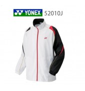 Yonex Junior Tracksuit Top 52010J WHITE