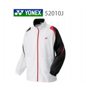 Yonex Junior Tracksuit Top 52010J WHITE