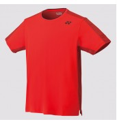 YONEX CREW NECK SHIRT	 10278 Fire Red
