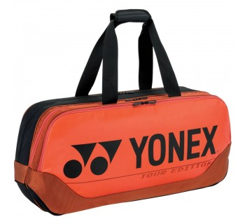 YONEX 92031W PRO TOURNAMENT BAG COPPER ORANGE O/S