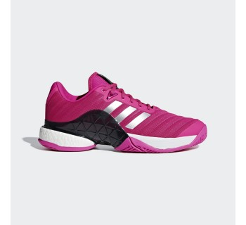 Adidas Barricade 2018 BOOST Men's Tennis Shoe AH2093 SHOCKPINK