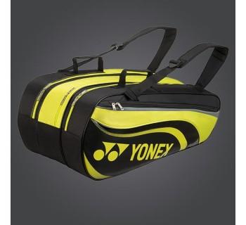 YONEX ACTIVE 9PCS BAG 8929 BLACK/LIME