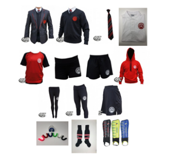 Cardiff High School Girls Style Standard Pack