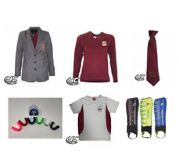 Cardiff West High School Girls Style Standard Pack