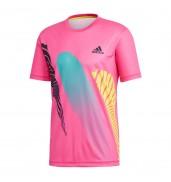 Adidas Seasonal Tee CY3337 SHOCKPINK