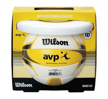Wilson AVP Recreation Kit 2 Volleyball & Frisbie