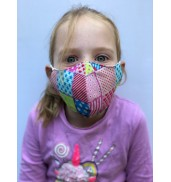 Junior Patchwork Face Mask