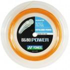 Yonex BG 80 Power 200M Reel Badminton String Bright Orange