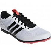 597d13ecd593 Adidas Distancestar Running Spikes B37498 WHITE BLACK RED