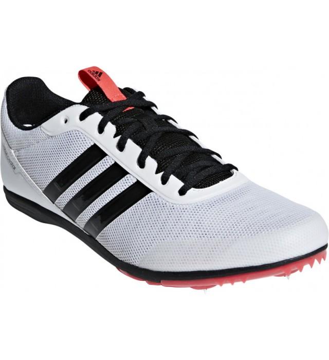 Adidas Distancestar Running Spikes B37498 WHITE BLACK RED 410d22388