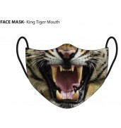 King Tiger Mouth Face Mask King Tiger Mouth