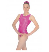 The Zone Orla Leotard (Cerise)