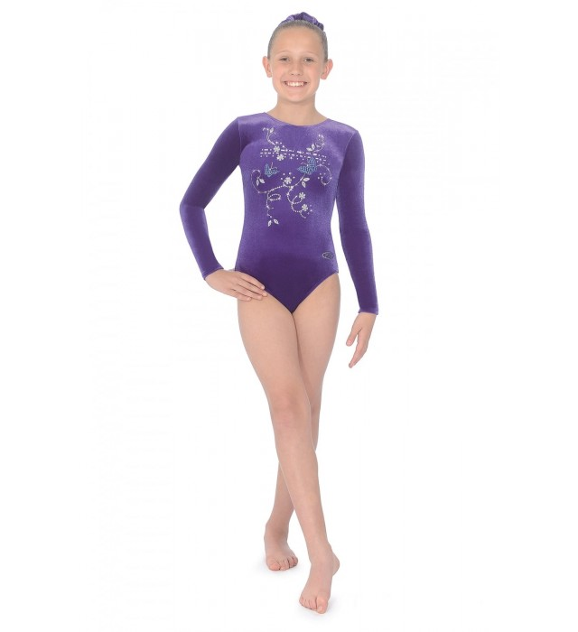 36e72a7c7040 THE ZONE PANACHE Leotard LS Z102PAN
