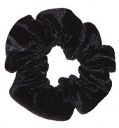 The Zone Smooth Scrunchie (Black)