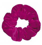 The Zone Smooth Scrunchie (Cerise)