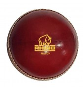 Rhino Cricket Match Ball 5.5oz RED