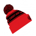 Cardiff High School CHS Bobble Hat Pupil RED/BLACK OSFA