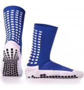 LUX Anti Slip Sports Socks (Calf ) BLUE