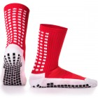 LUX Anti Slip Sports Socks (Calf) RED