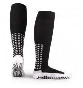 LUX Anti Slip Sports Socks (Knee) BLACK