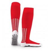 LUX Anti Slip Sports Socks (Knee) RED