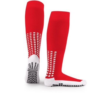 LUX Anti Slip Sports Socks (Knee) RED