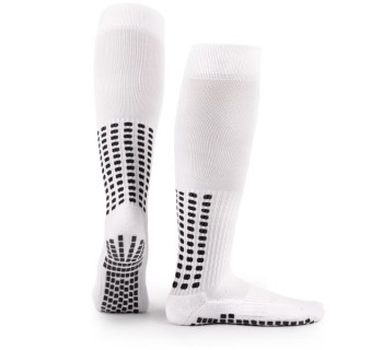 LUX Anti Slip Sports Socks (Knee) WHITE