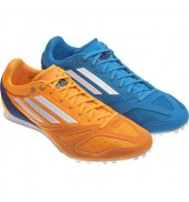 Adidas Techstar Allround 3 Blue/Yellow spikes running shoes