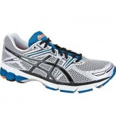 Asics GT 1000 White/Blue running shoes