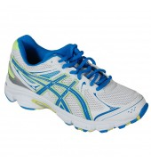 Asics Gel Ikaia 5 GS White/Blue Kids Running Shoes