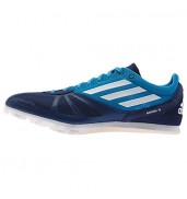 Adidas Arriba 4 Mens Blue spikes running shoes