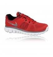 Nike Flex 2014 Run Junior Running Shoe (University Red)