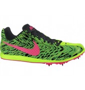 Nike Zoom Rival D 8 Track Spike (306 Electric Green/Black/Hyper Punch, 2015)