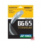 Yonex BG 65 TITANIUM WHITE O/S