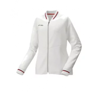 Yonex WOMENS WARM-UP JACKET 57050 WHITE