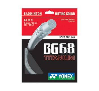 Yonex BG 68 TITANIUM WHITE O/S