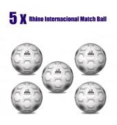 Rhino International Match Ball Bundle (5 Balls)