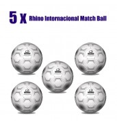 Rhino International Match Ball Bundle (5 Balls)