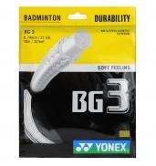 Yonex BG 3 WHITE O/S