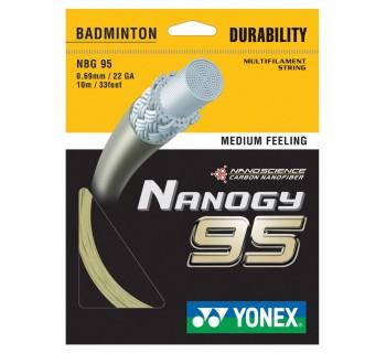 Yonex NANOGY 95 Badminton String Set GOLD O/S