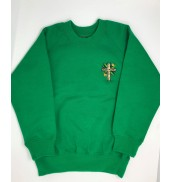 St Davids Primary School Sweatshirt NURSERY AND RECEPTION ONLY 2020 EMERALD