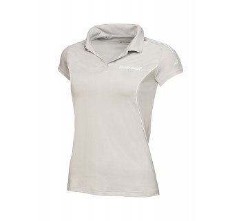 Babolat Womens Core Polo (41S1663Y-107 Grey)