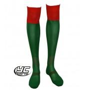 URNU Socks Emerald/red