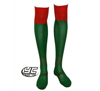 URNU Socks Emerald/red